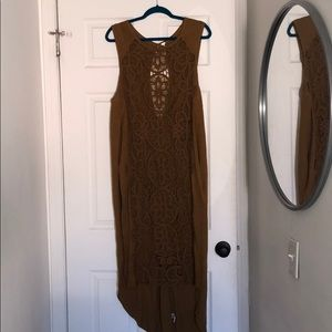 Lace freepeople pool cover up